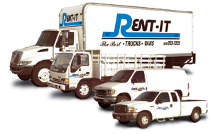 Truck Rentals in The San Fernando Valley